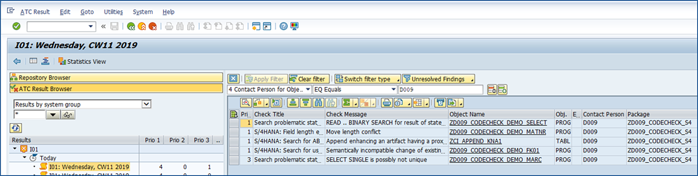 SAP S/4HANA | Custom-Code-Pruefsystem | IBsolution