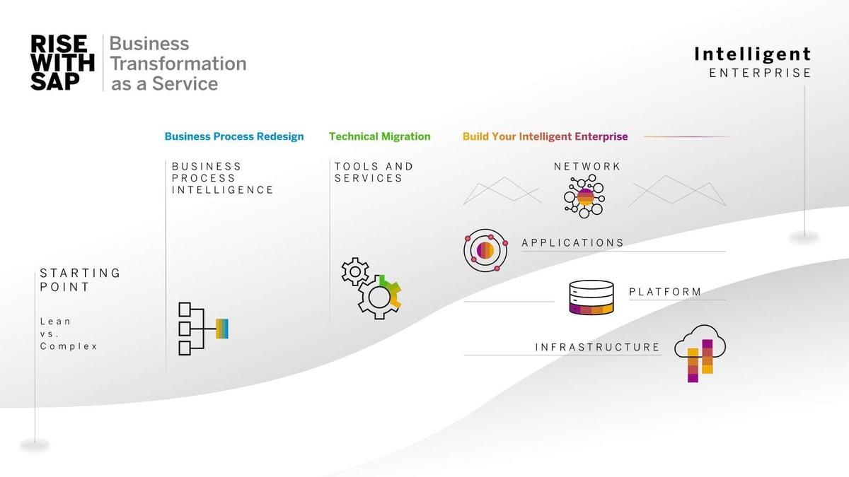 Grafik RISE with SAP | IBsolution