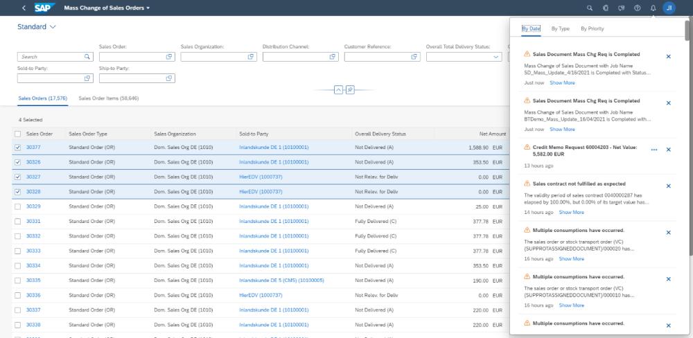 SAP S4HANA Cloud 2105 | Massenaenderungen | IBsolution