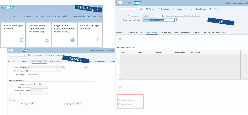 SAP S/4HANA International Trade   IBsolution