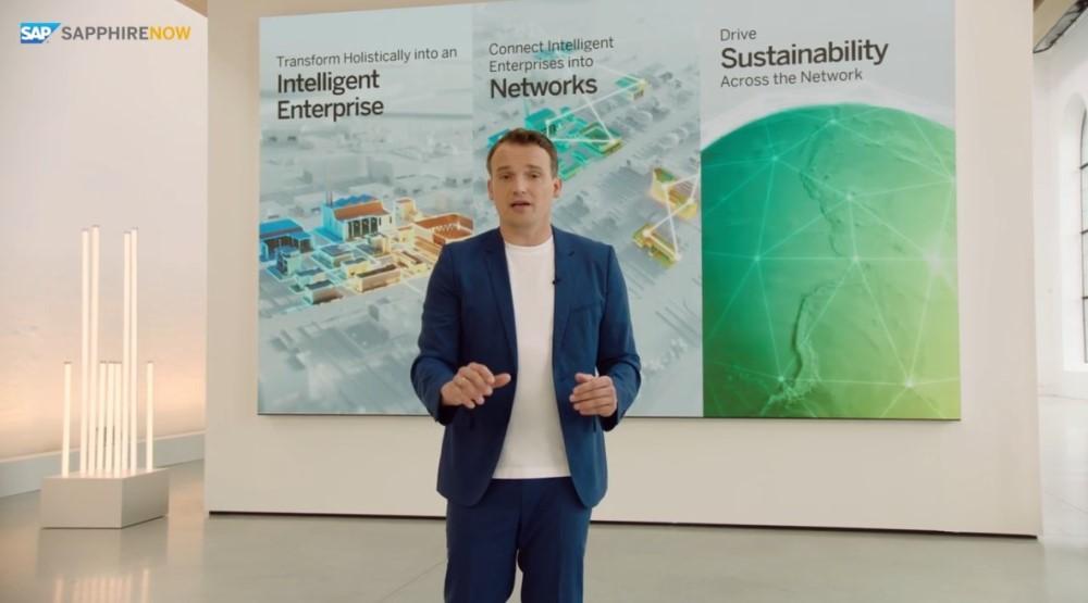SAP Sapphire-Keynote Christian Klein