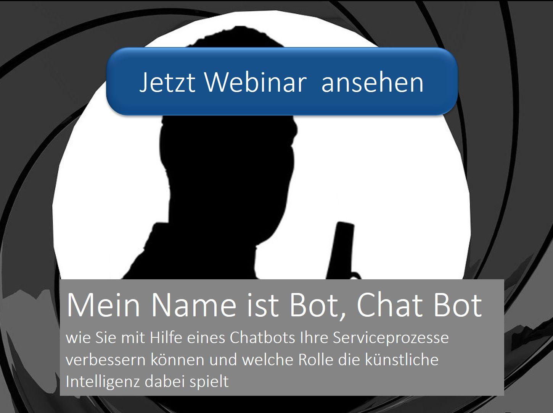 Chatbot zum Webinar IBsolution