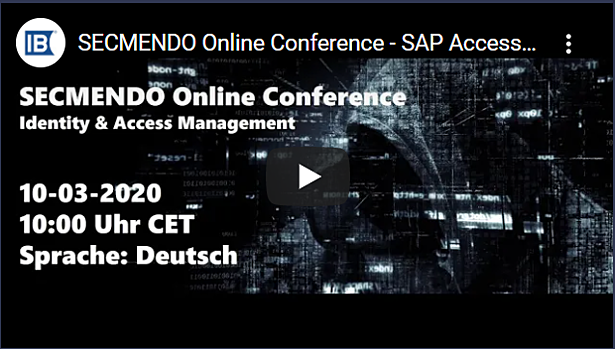 IBsolution 1. SECMENDO Online Conference