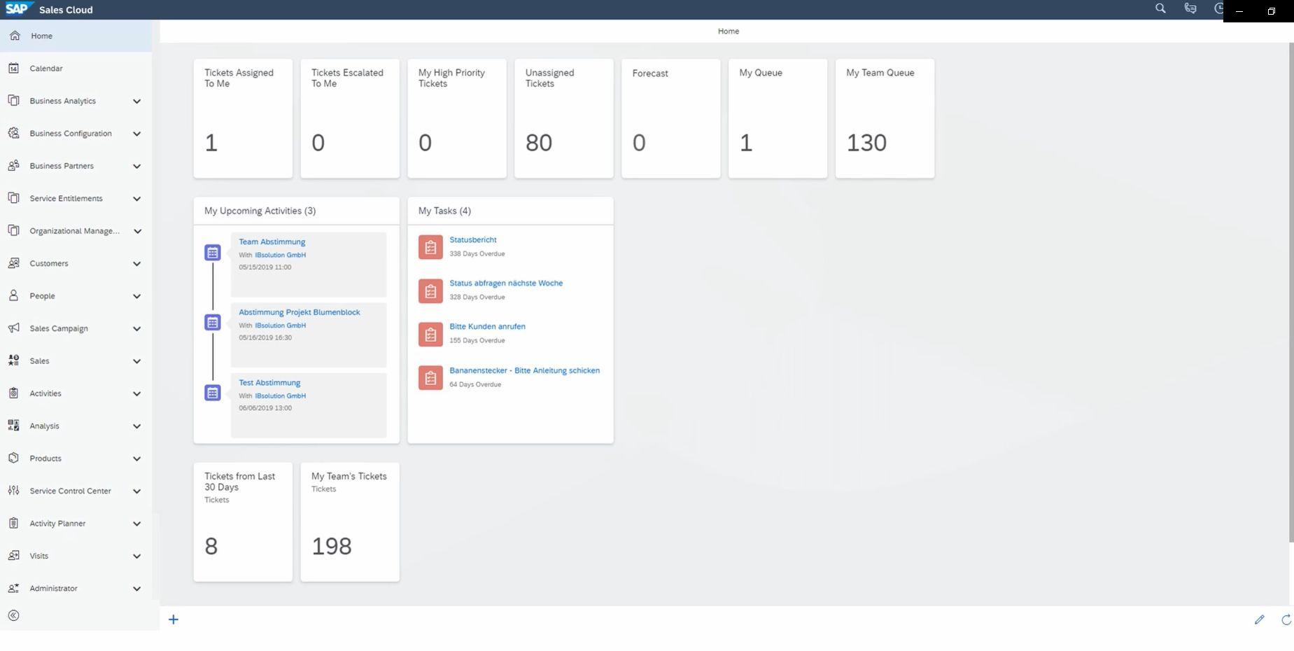 LinkedIn Sales Navigator Integration with SAP Sales Cloud IBsolution