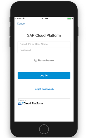 Login SAP Cloud Platform IBsolution