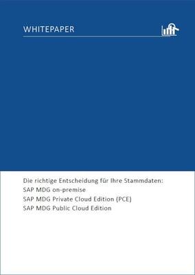 Whitepaper SAP MDG IBsolution