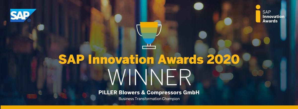 Piller SAP Innovation Award Winner IBsolution