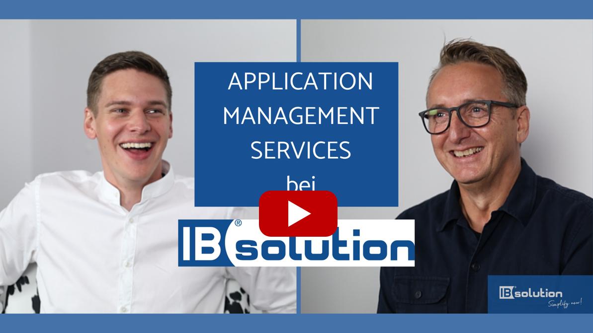 Was sind Application Management Services