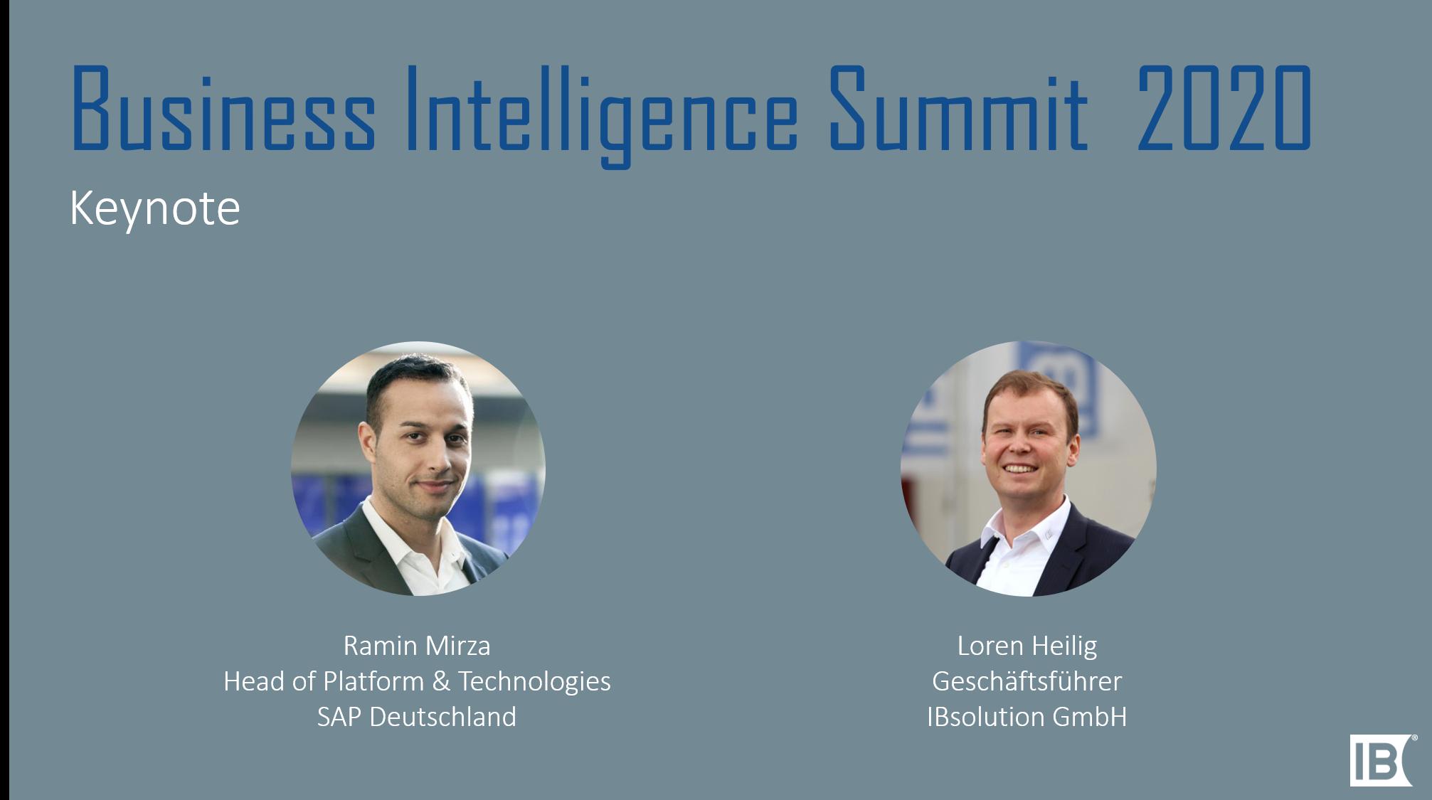Keynote BI-Summit IBsolution