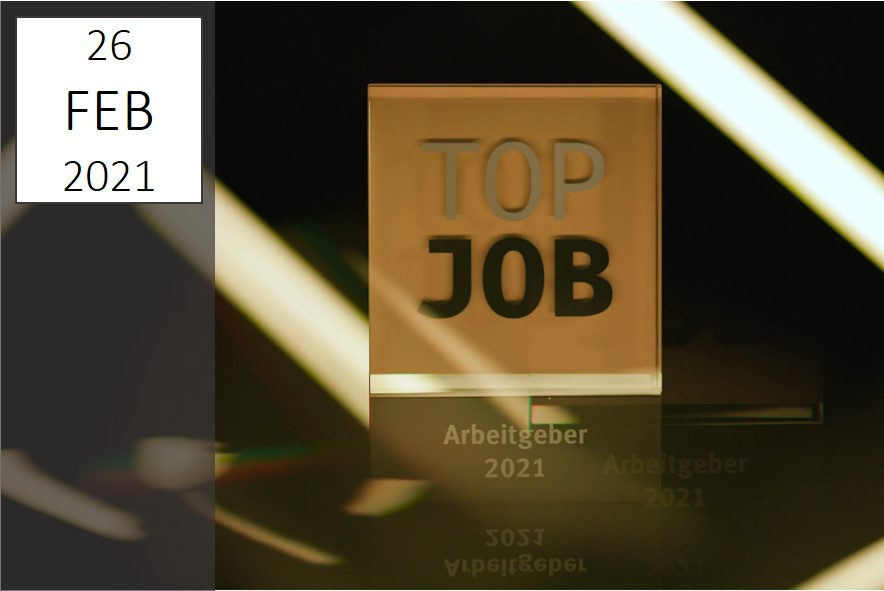 TOP JOB 2021 | Beste Arbeitgeber | IBsolution