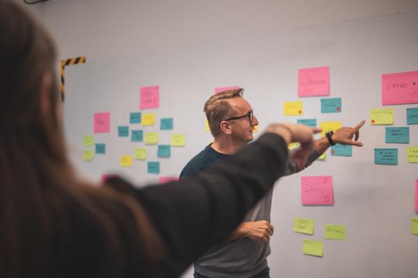 Brainstorming Innovation Room klein