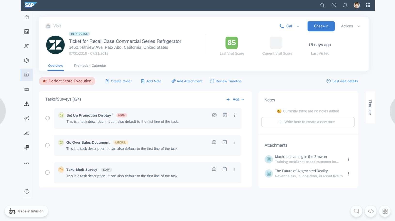SAP Sales Cloud Retail Execution   Besuchsdurchführung   IBsolution