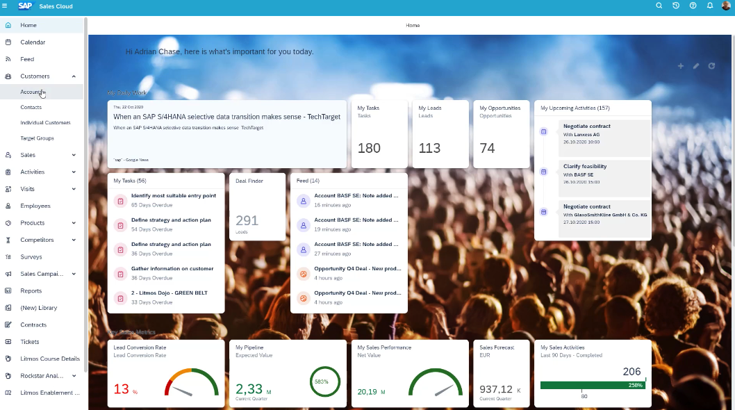 SAP Sales Cloud   360-Grad-Sicht   IBsolution