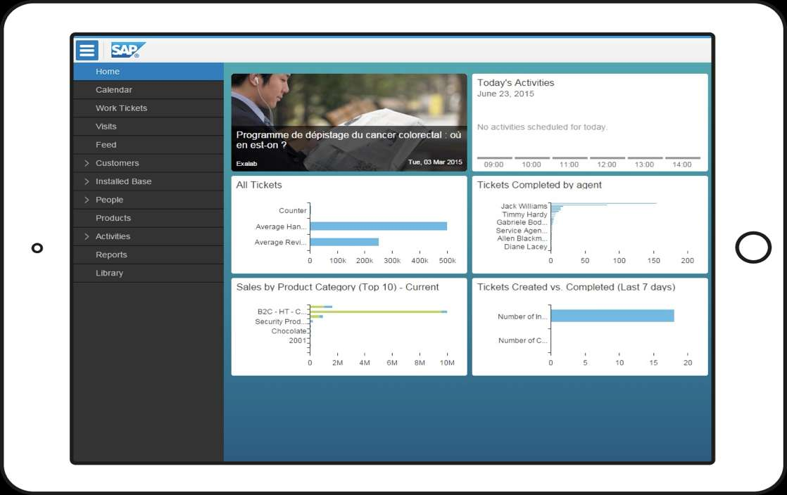 SAP Service Cloud | Mobiles Arbeiten | IBsolution